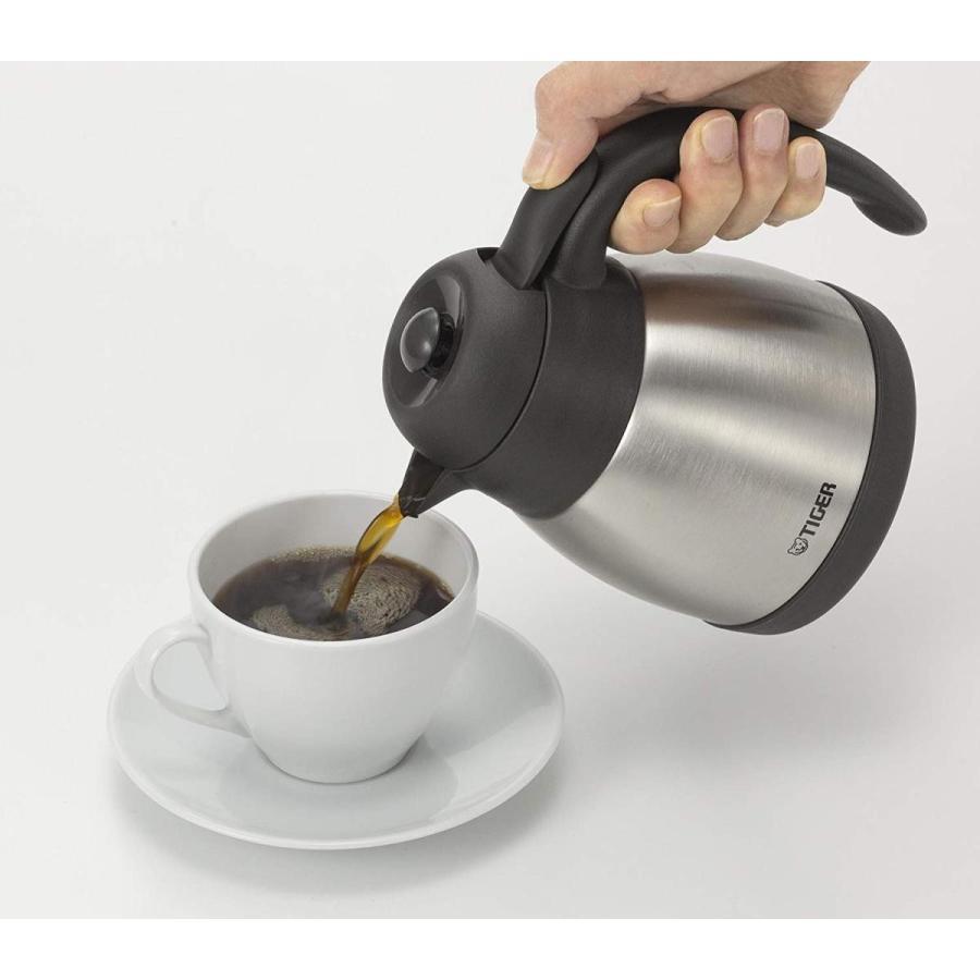 タイガー コーヒーメーカー 4杯用 真空 ステンレス サーバー バーミリオン カフェバリエ ACT-B040-DV millioncacao 10