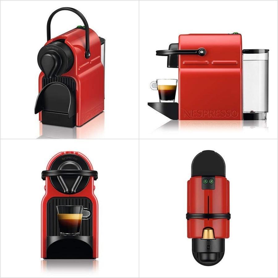 ネスプレッソ コーヒーメーカー イニッシア エアロチーノセット ルビーレッド C40RE-A3B|millioncacao|02