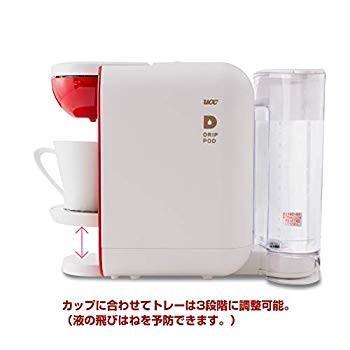 UCC コーヒーメーカー ドリップポッド 本格 ドリップコーヒー カプセル式 (ホワイト×レッド) DP2A millioncacao 15