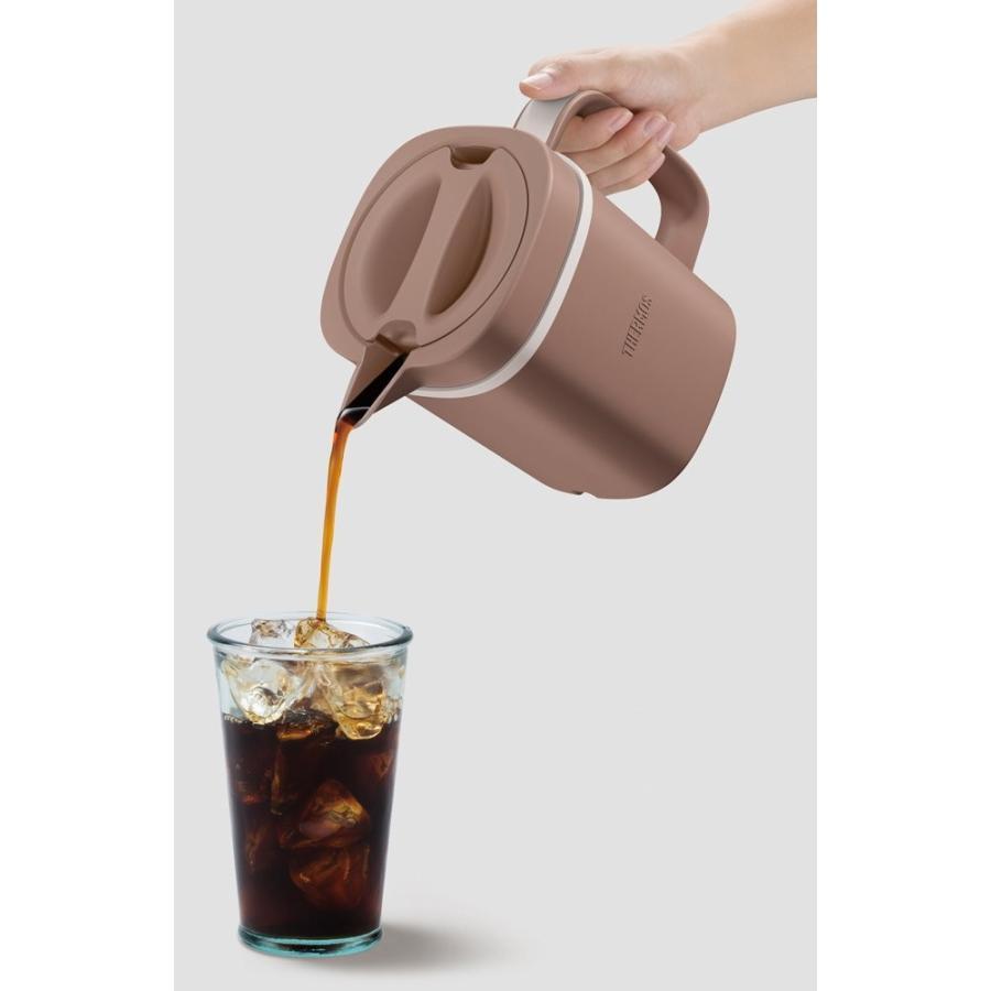 サーモス アイスコーヒーメーカー 0.66L バニラホワイト ECI-660 VWH millioncacao 16