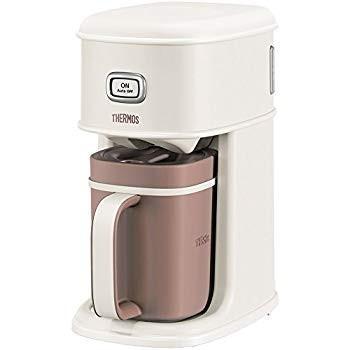 サーモス アイスコーヒーメーカー 0.66L バニラホワイト ECI-660 VWH millioncacao 07