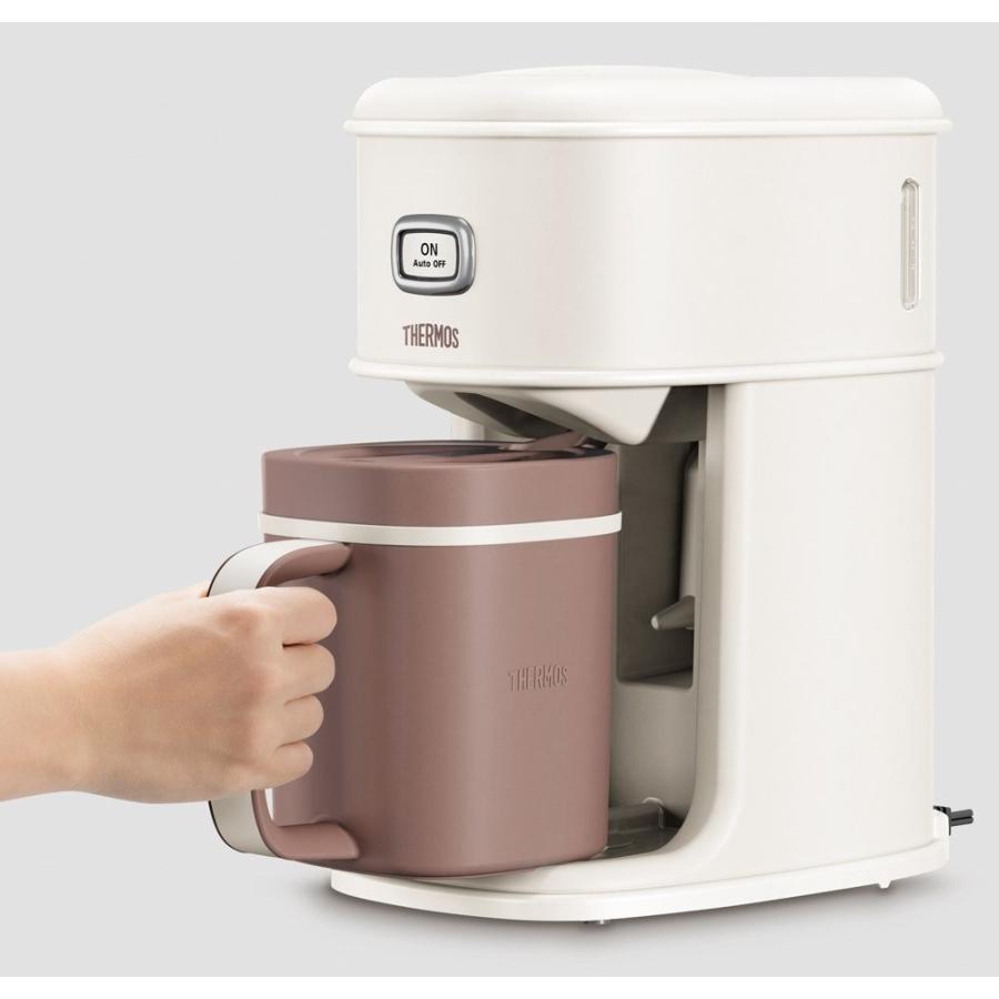 サーモス アイスコーヒーメーカー 0.66L バニラホワイト ECI-660 VWH millioncacao 09