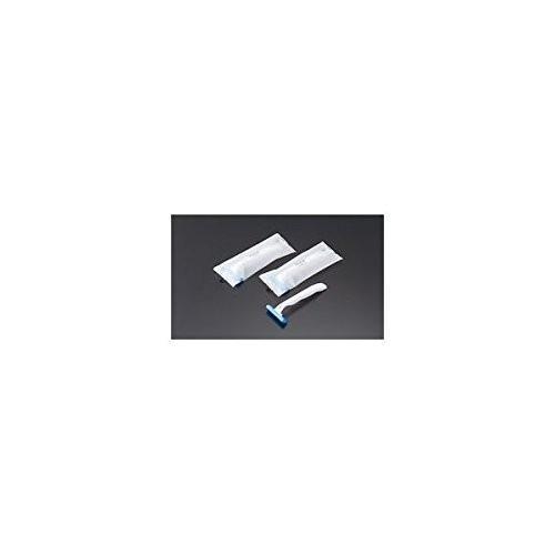 カミソリ SB2枚刃 マットOP袋入 (1箱500本入) 品番ZKM2001