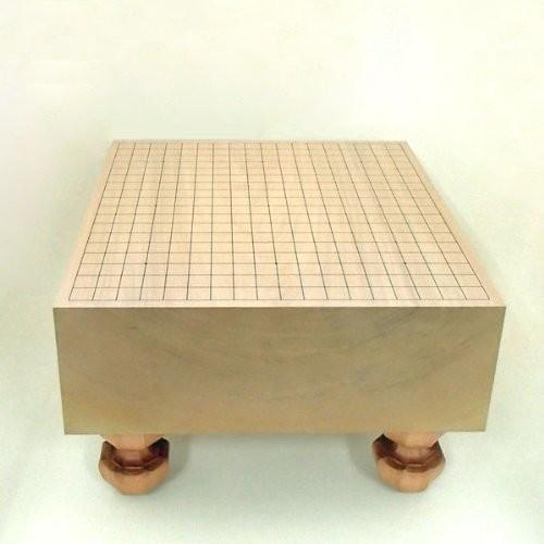 これで十分重さも手頃な5寸碁盤 本桂5寸碁盤 竹