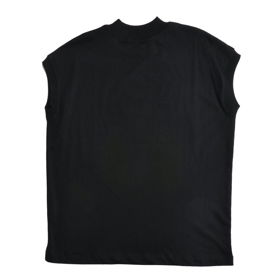 送料無料 ハイネック Tシャツ 天竺バイオ加工  1分袖 TEE (メール便発送)|mimaca|14