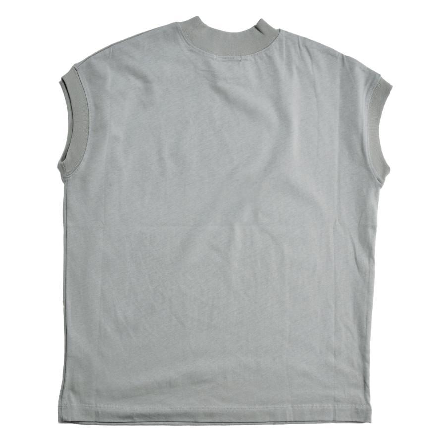 送料無料 ハイネック Tシャツ 天竺バイオ加工  1分袖 TEE (メール便発送)|mimaca|20