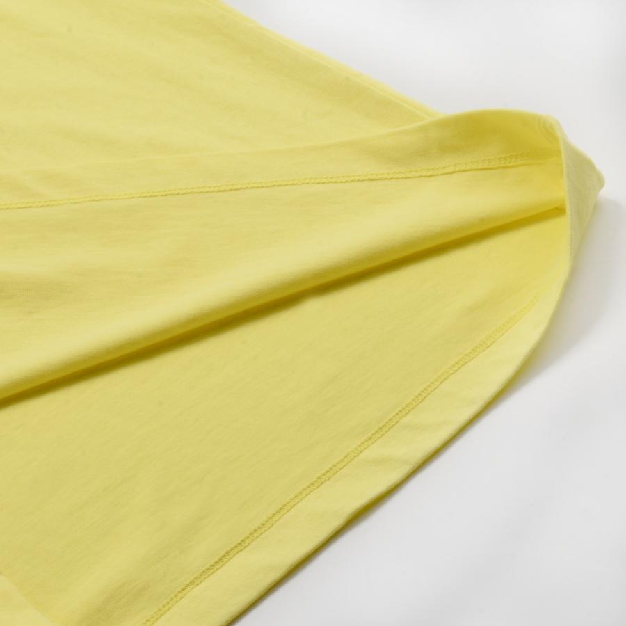 送料無料 ハイネック Tシャツ 天竺バイオ加工  1分袖 TEE (メール便発送)|mimaca|08