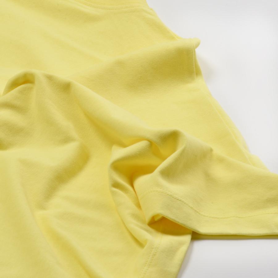 送料無料 ハイネック Tシャツ 天竺バイオ加工  1分袖 TEE (メール便発送)|mimaca|09