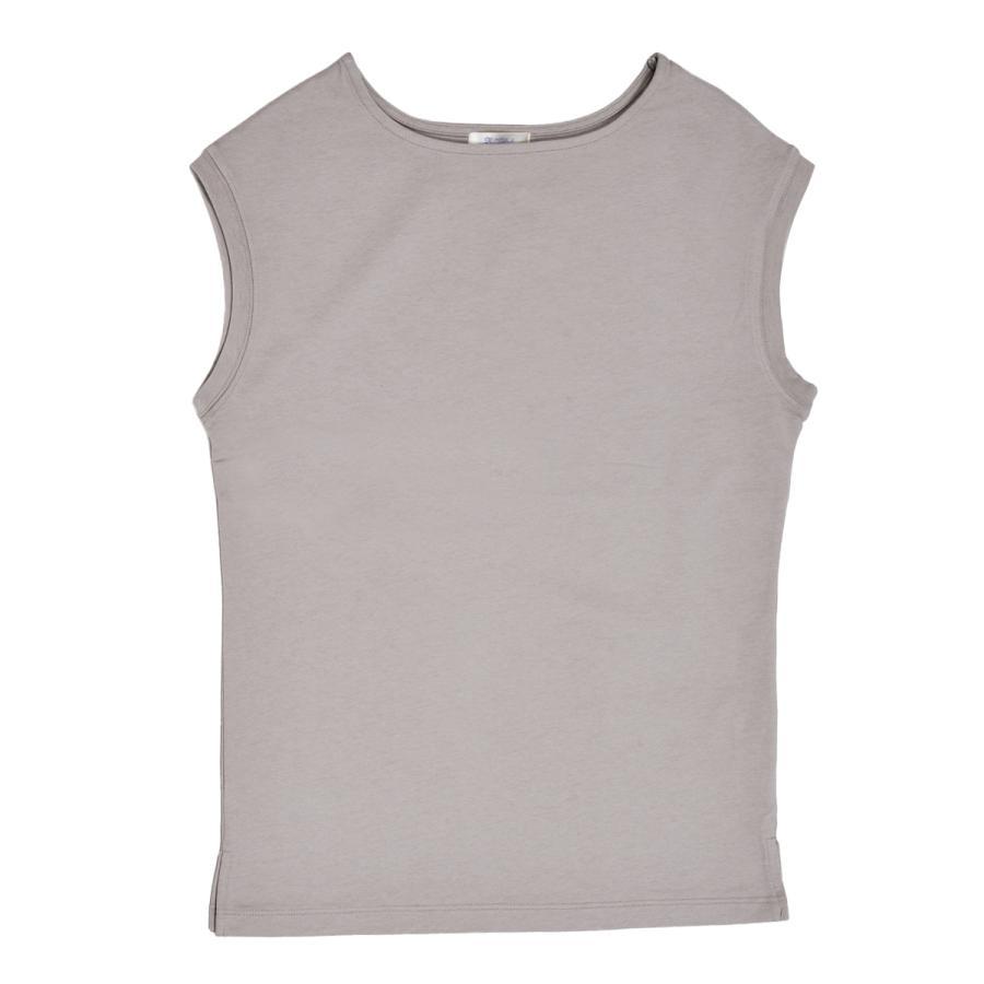 送料無料 強撚天竺 フレンチスリーブ ボートネック TEE Tシャツ  (メール便発送) mimaca 09