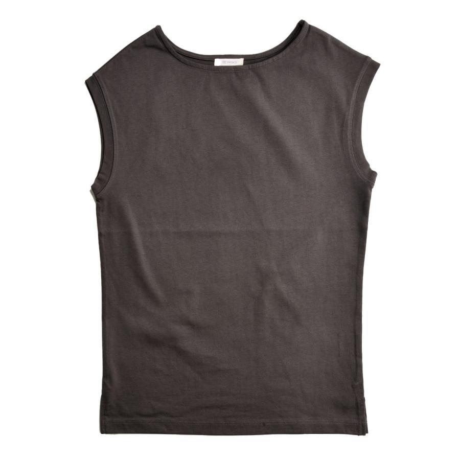 送料無料 強撚天竺 フレンチスリーブ ボートネック TEE Tシャツ  (メール便発送) mimaca 10