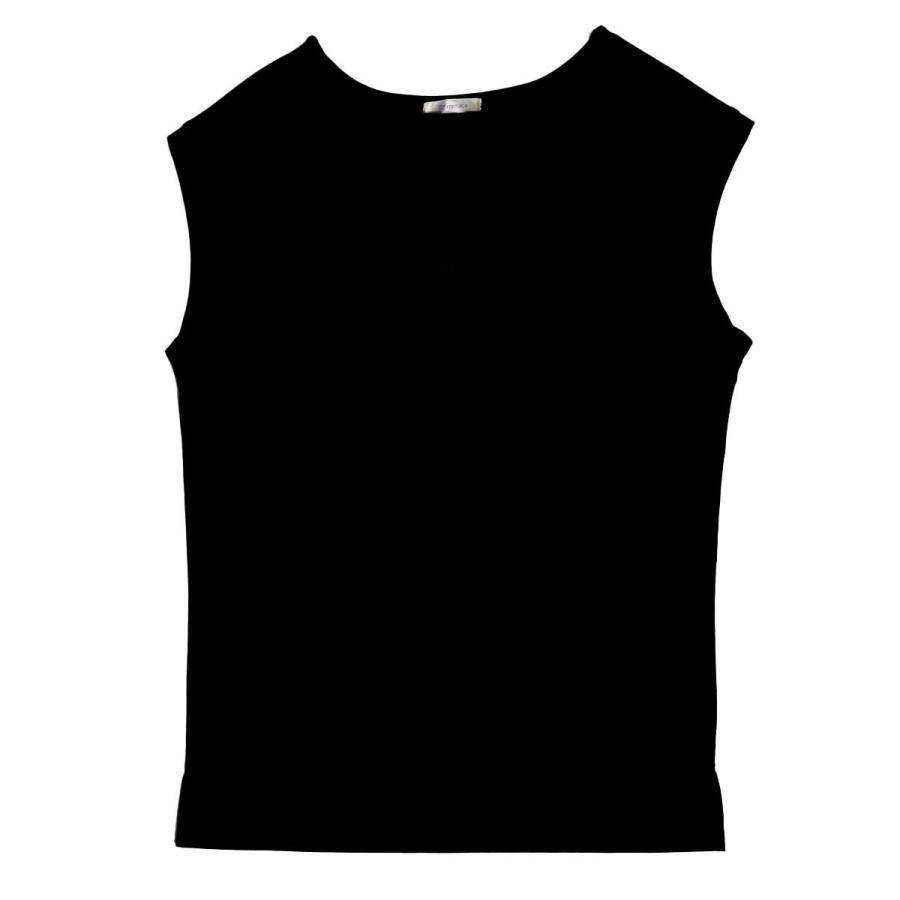 送料無料 強撚天竺 フレンチスリーブ ボートネック TEE Tシャツ  (メール便発送) mimaca 11