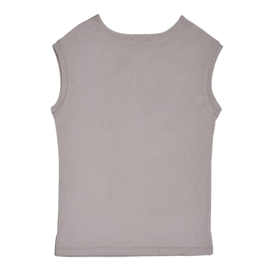 送料無料 強撚天竺 フレンチスリーブ ボートネック TEE Tシャツ  (メール便発送) mimaca 04