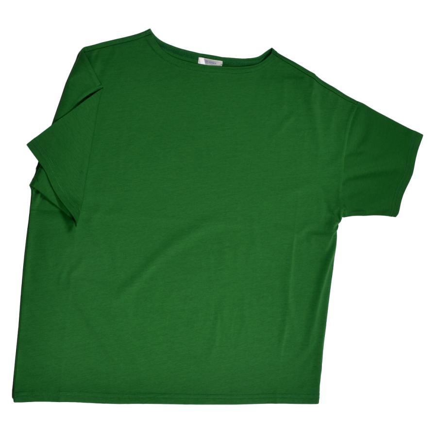 送料無料 ボートネック 肩落ち ボリュームプルオーバー32シルケット天竺 Tシャツ (メール便発送)|mimaca|14