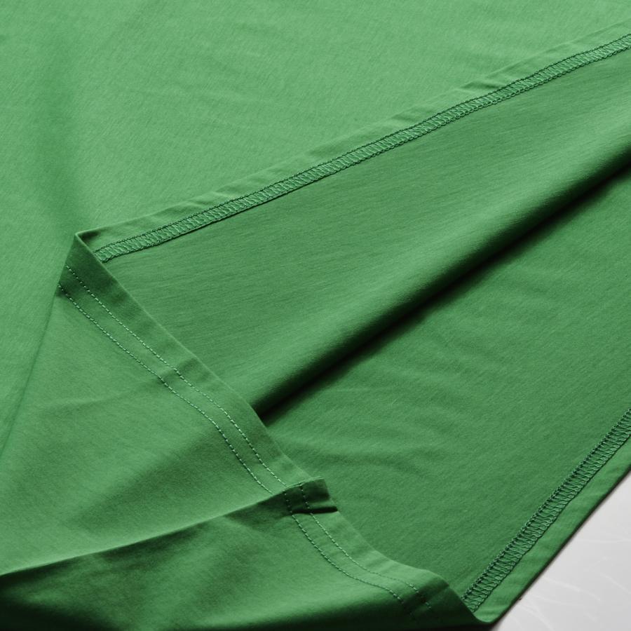 送料無料 ボートネック 肩落ち ボリュームプルオーバー32シルケット天竺 Tシャツ (メール便発送)|mimaca|05