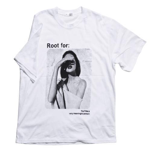 送料無料 転写プリントオーバー Tシャツ (メール便発送) mimaca 09