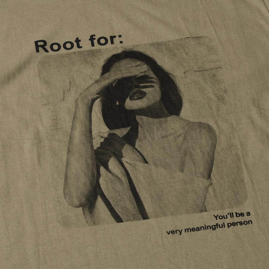 送料無料 転写プリントオーバー Tシャツ (メール便発送) mimaca 08