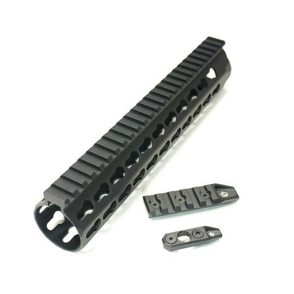KAC URX4 タイプ 10inch keymod レールハンドガード スタンダード電動M4シリーズ対応 サバゲー 装備