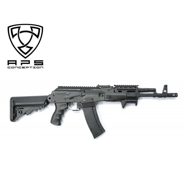 APS airsoft製 TACTICAL PMC AK74 ブローバックシステム内蔵モデル 18歳以上対象