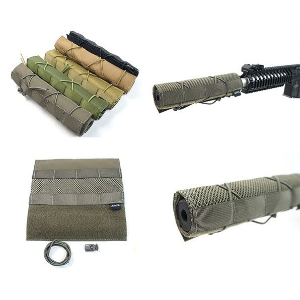AVANTE Mesh Suppressor Cover Short BK OD RG CB KH サプレッサー カバー 在庫限り メール便 ネコポス可|mimiy|02