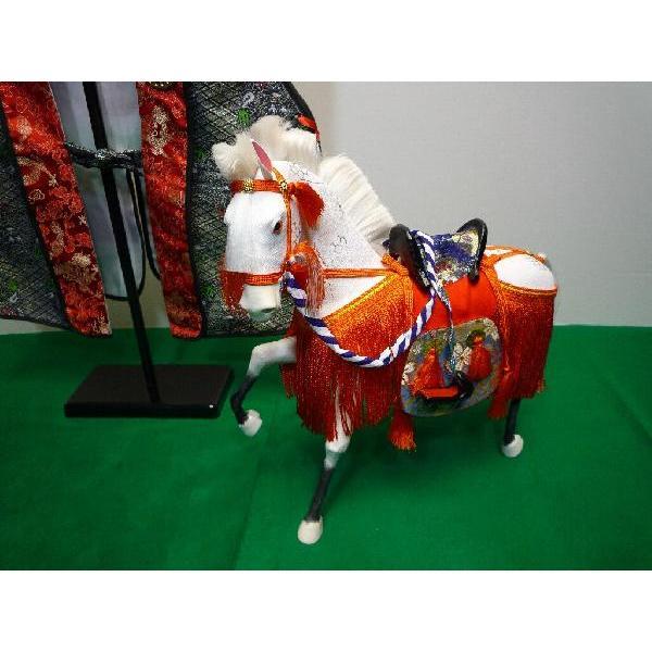 5月節句飾り お祝いの品に最適な ちりめん飾り馬 10号 京馬かざり