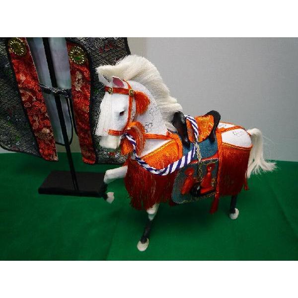 5月節句飾り お祝いの品に最適な ちりめん飾り馬 12号 京馬かざり