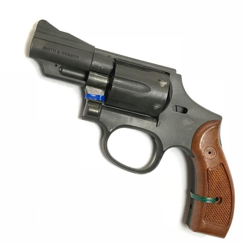 ハートフォード S&W M19 コンバットマグナム 2.5インチ HW樹脂製 発火式モデルガン 組立キット
