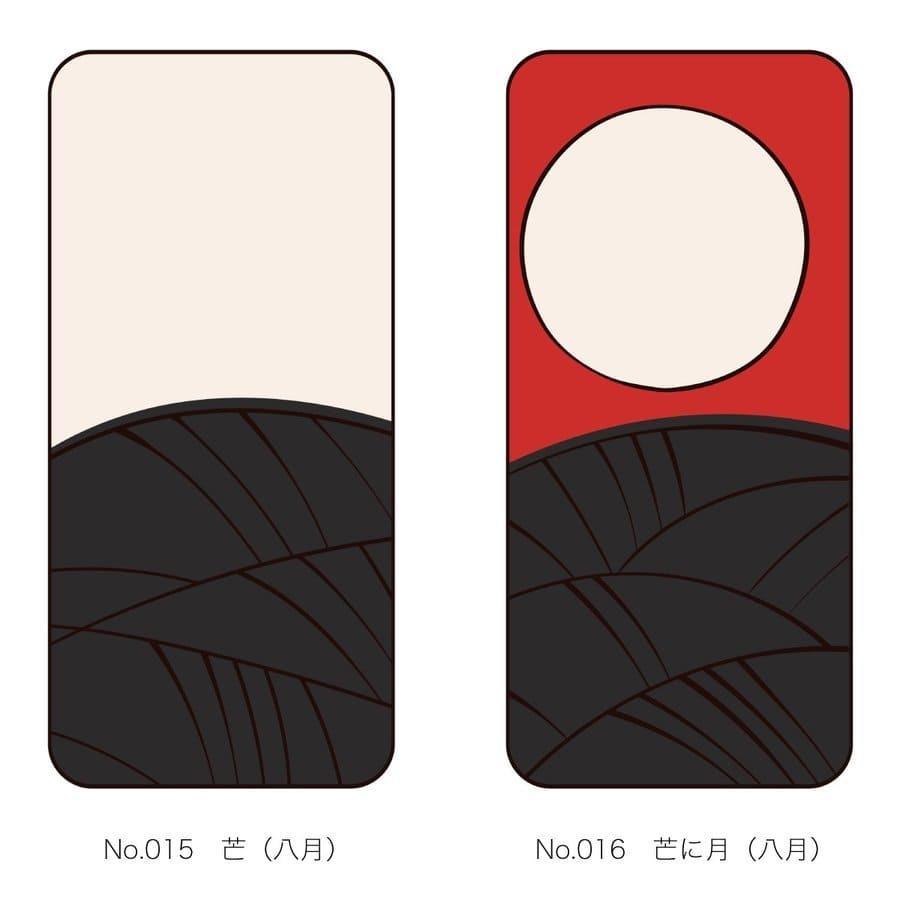 iPhoneケース 花札柄 スマホケース 和風 和柄 レトロ 携帯ケース ソフトケース The Shokunin|mimus-shop|09
