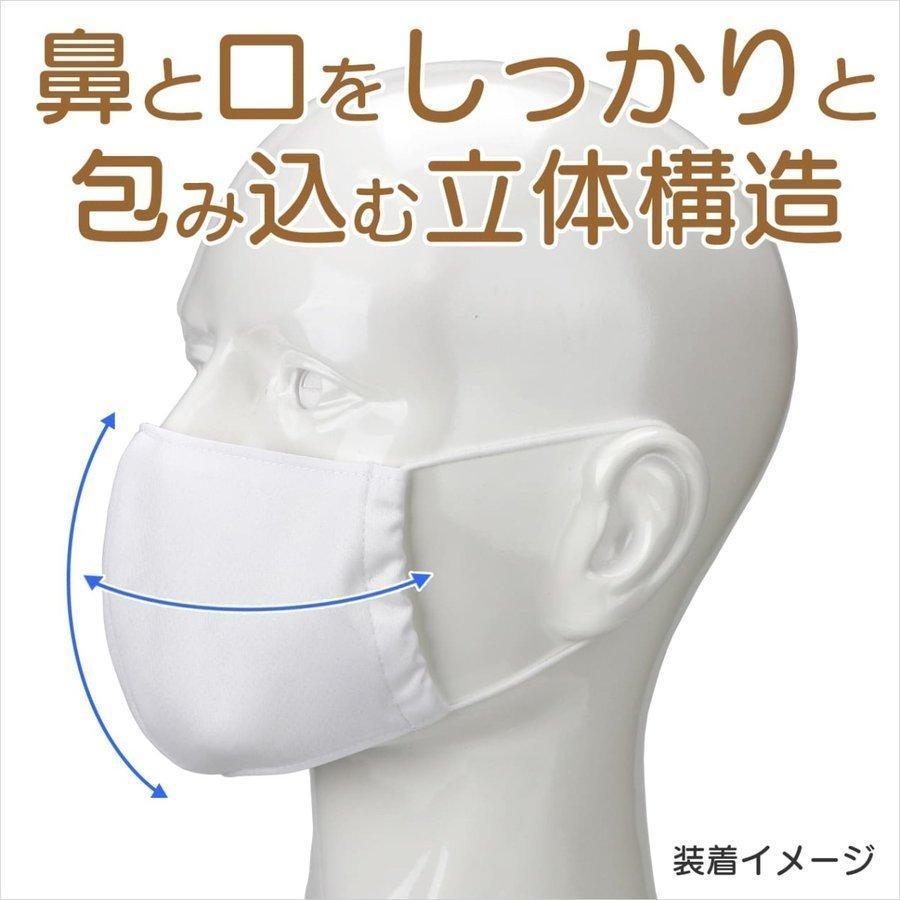 マスク ネコ 猫柄 肉球 ワンポイント 日本製 かわいい 子供用 小さめ サイズ から 大人用まで 選べる3サイズ nikuQ WebArts|mimus-shop|02