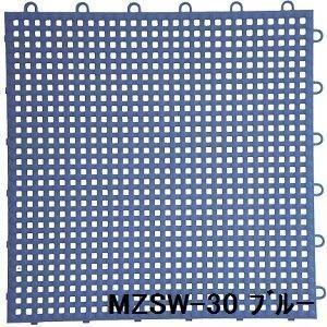 ポイント15倍水廻りフロアー サワーチェッカー MZSW-30 MZSW-30 30枚セット 色 ブルー サイズ 厚13mm×タテ300mm×ヨコ300mm/枚 30枚セット寸法(1500mm×18...送料無料