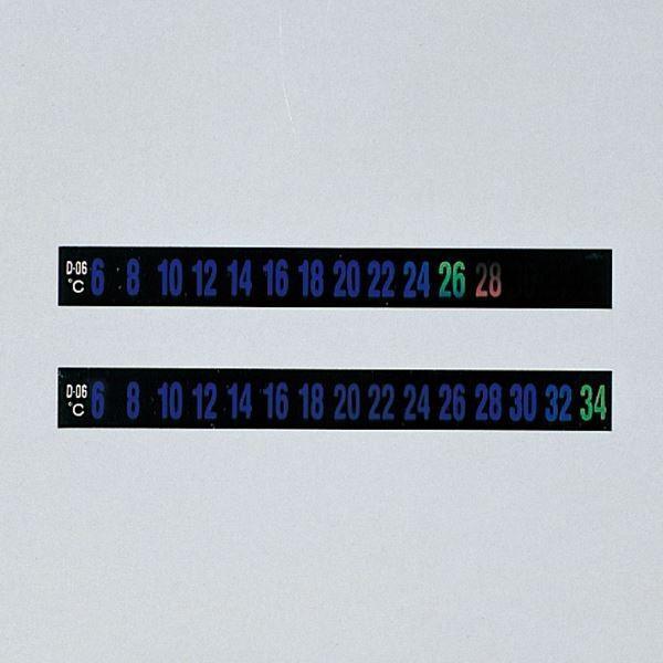 ポイント15倍デジタルサーモテープ D-M6 幅:10mm〔30枚入〕〔代引不可〕送料無料