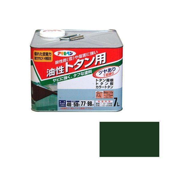 ポイント15倍アサヒペン AP トタン用 7L 緑送料無料
