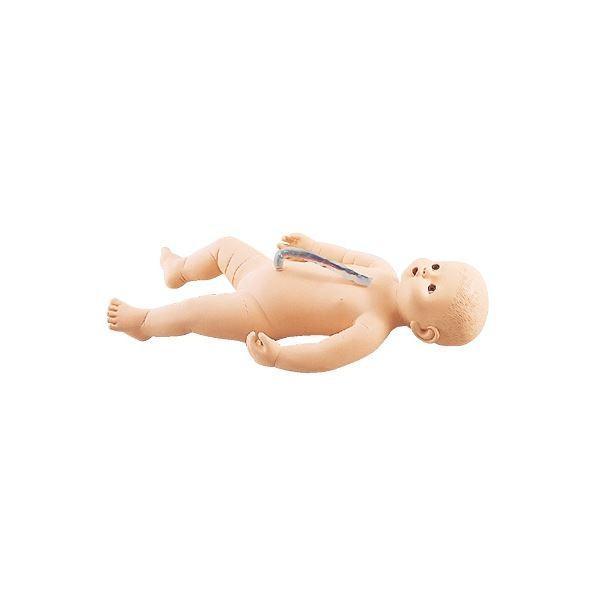 ポイント15倍サカモトベビー/看護実習モデル人形 〔女〕 全身シームレス構造 臍帯付き M-107-4〔代引不可〕送料無料