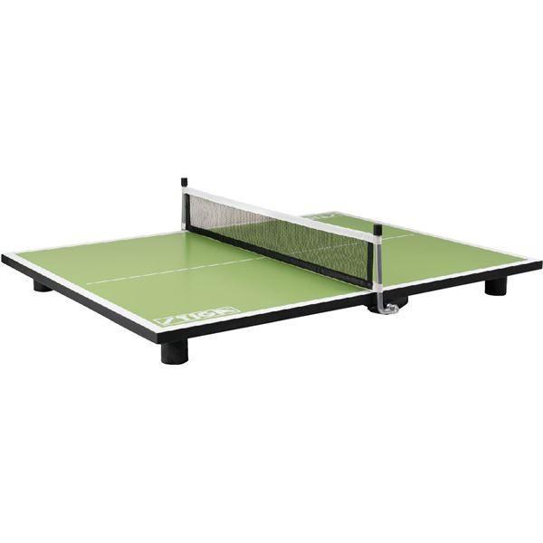 ポイント15倍STIGA(スティガ) PURE SUPER MINI TABLE スーパーミニ卓球台 ピュア ネオングリーン送料無料