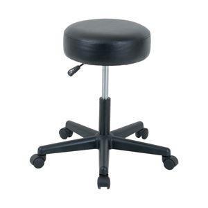 ポイント15倍オフィスデポ オリジナル ラウンドチェア(丸椅子) 色:ブラック 1脚送料無料