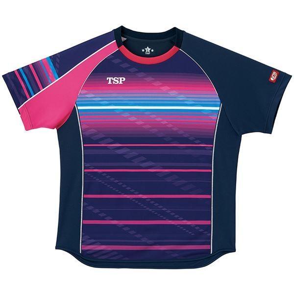 ポイント15倍VICTAS TSP 卓球アパレル ゲームシャツ クラールシャツ 男女兼用 031428 ネイビー XS送料無料