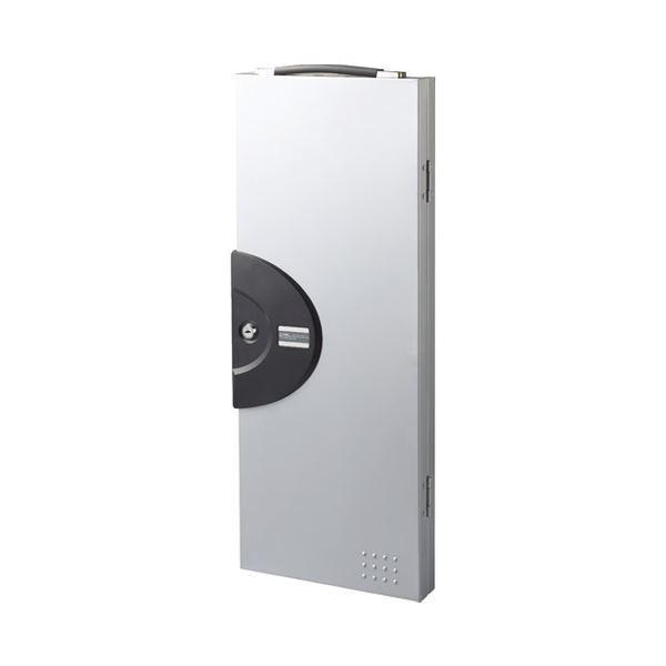 ポイント15倍(まとめ)カール事務器 カール キーボックス 64個吊 CKB-64-S〔×5セット〕送料無料