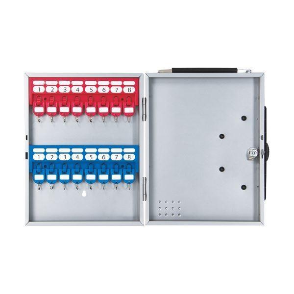 ポイント15倍(まとめ)カール事務器 キーボックス 16個吊シルバー CKB-16-S 1個〔×3セット〕送料無料