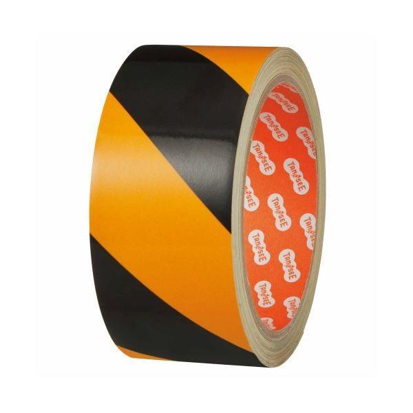 ポイント15倍(まとめ)TANOSEE 危険表示反射テープ 90mm×10m 1巻〔×3セット〕送料無料