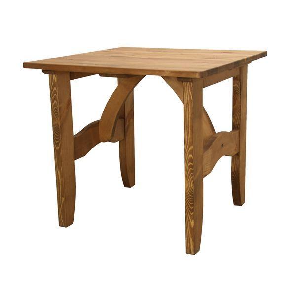 ポイント15倍ダイニングテーブル 正方形 木製(パイン材/オイル仕上) CFS-511送料無料