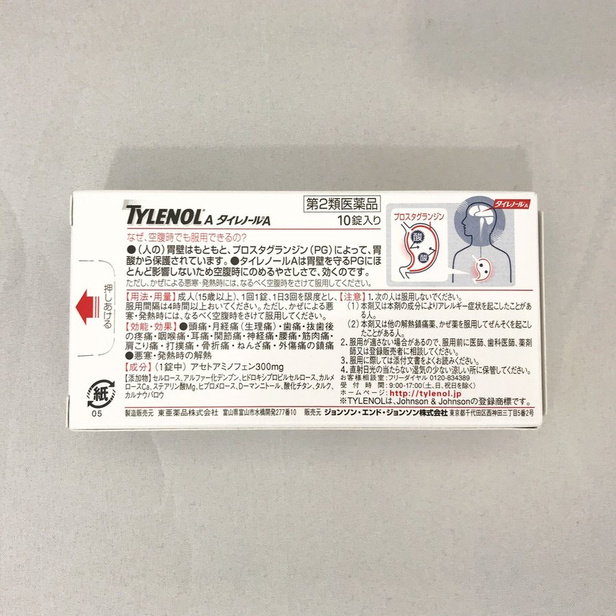 アセト アミノ フェン 解熱剤