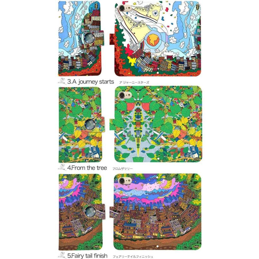 スマホケース 手帳型 全機種対応 iPhone xperia aquos galaxy huawei arrows スマホカバー 手帳  両面 アニマル 動物|minacorporation|03