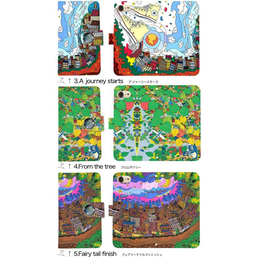 スマホケース 手帳型 全機種対応 iPhone xperia aquos galaxy huawei arrows スマホカバー 手帳  両面 アニマル 動物|minacorporation|05