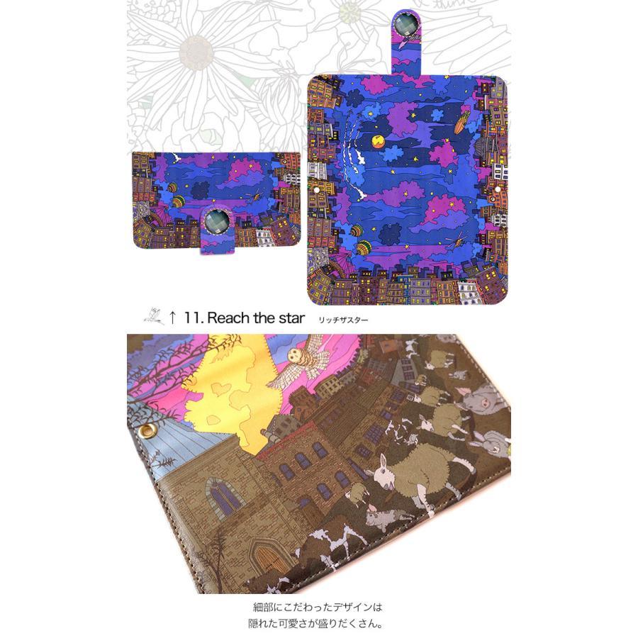 スマホケース 手帳型 全機種対応 iPhone xperia aquos galaxy huawei arrows スマホカバー 手帳  両面 アニマル 動物|minacorporation|08
