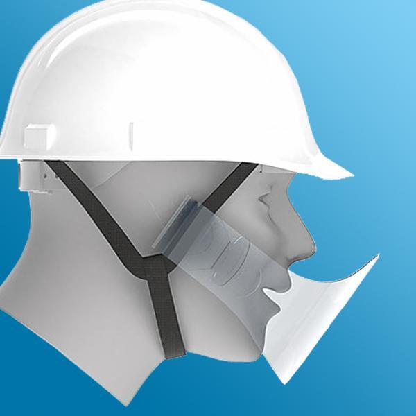 ヘルメット用 マウスシールド 50枚入り|minakami119