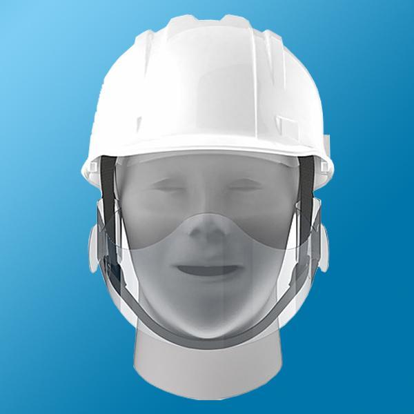ヘルメット用 マウスシールド 50枚入り|minakami119|02