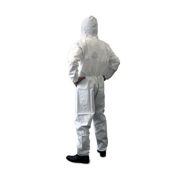 防護服 使い捨て サイズ:M 50着セット 【コロナ対策、インフルエンザ対策 】 minakami119 02