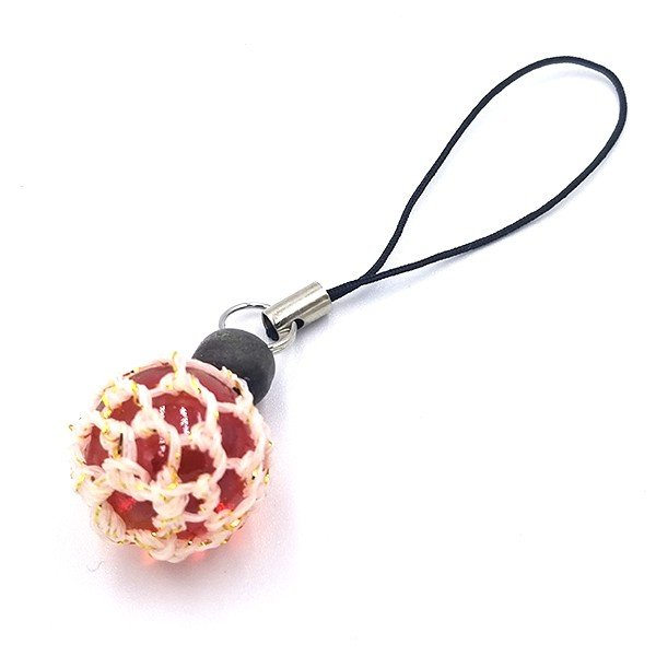 福幸玉 ストラップ 手作り おしゃれ かわいい 浮き球 浮き玉 ビン玉 ガラス玉 ネコポス対応 泊貝っこ|minamisanriku-hukko|10