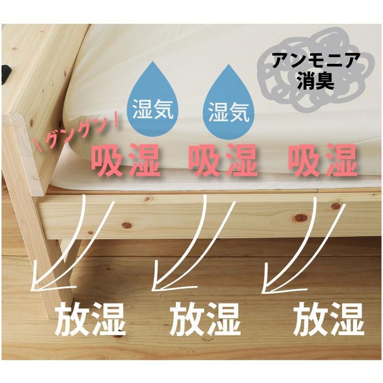 洗える除湿マット シングル (高級放湿繊維モイスファイン・スタンダードタイプ)(除湿マットS★70001★) minamoto-bed 07