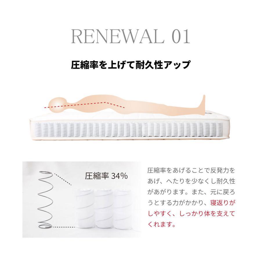 脚付きマットレス シングルベッド  国産 | ポケットコイル(MCB810-S-P)|minamoto-bed|03