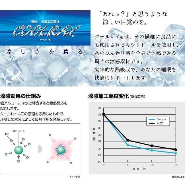 日本製 冷感敷きパッド シングル クールアウト (olcl-sp-10205) minamoto-bed 10
